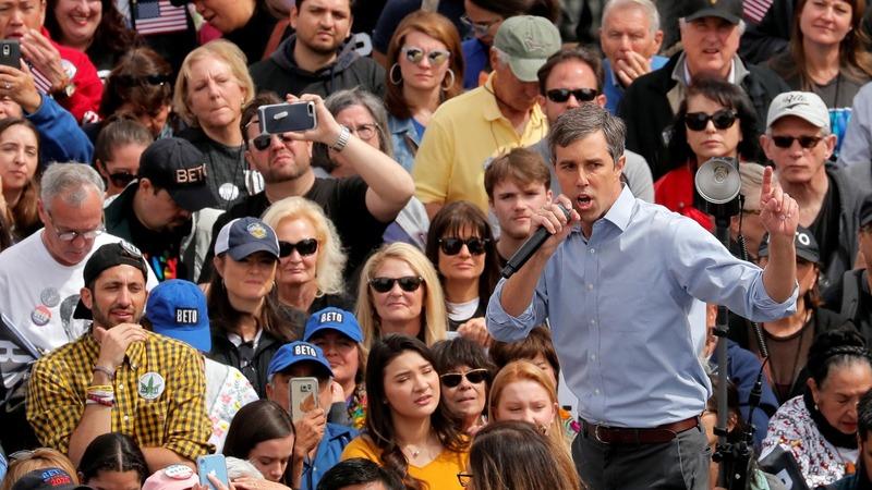 VERBATIM: Beto takes swipe at Trump at El Paso rally
