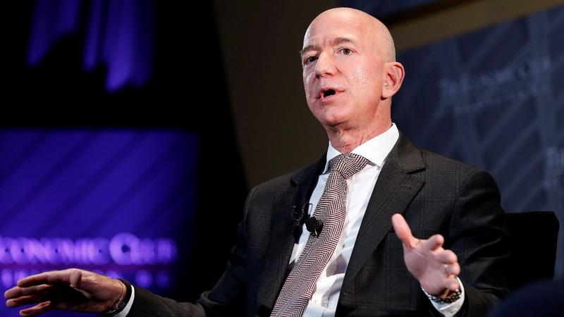 Saudis accessed Bezos' phone, says his security