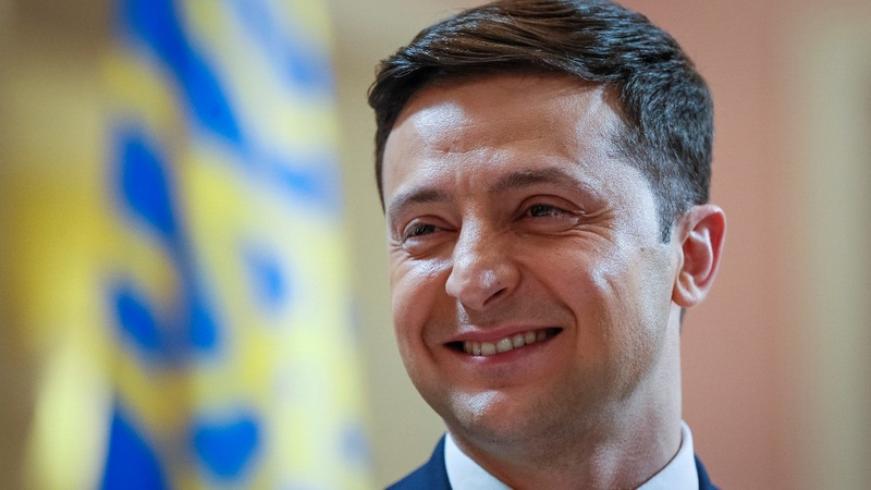 Comic gets step closer to Ukrainian presidency
