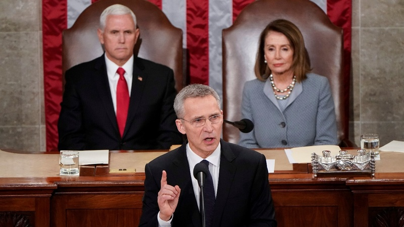 NATO chief warns Congress of Russia threat