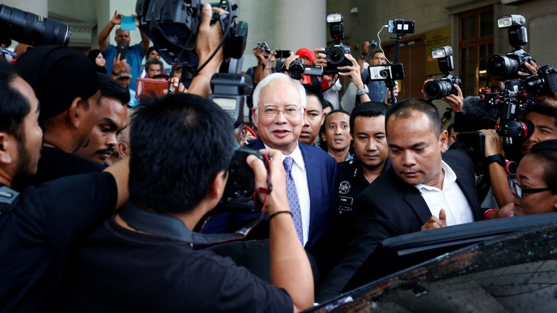 Malaysia's former PM begins corruption trial