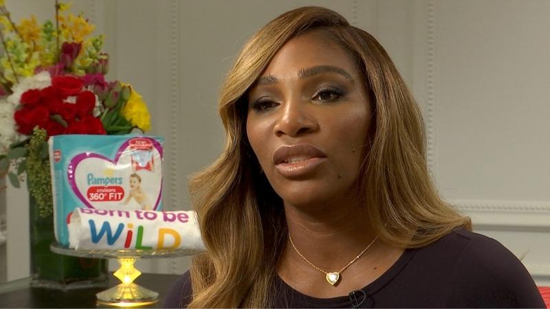 Serena talks battling back after pregnancy
