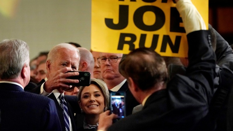 Biden says he'll respect 'personal space'