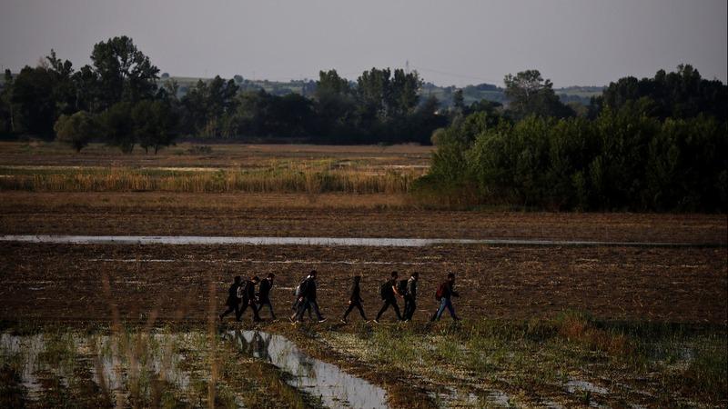 Migrants arrested on Turkish-Greek border
