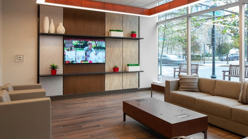 """Bank of America's """"living room"""" branches"""