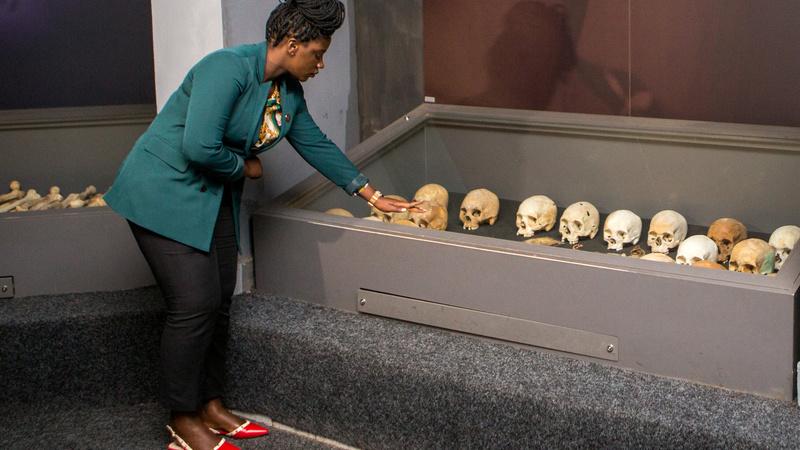 Rwanda's post-genocide guide keeps memories alive