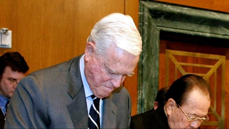 Former S. Carolina Dem. Ernest Hollings dies at 97