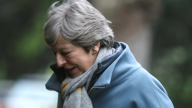May warns no Brexit if no compromise reached soon