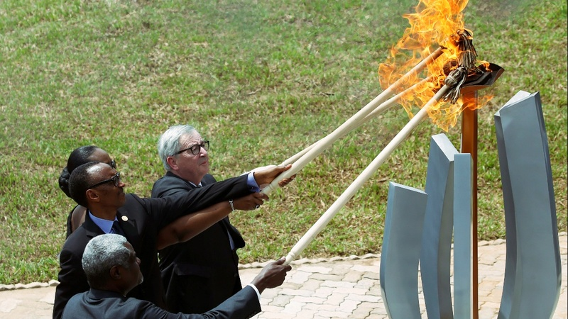 Rwanda honors those killed in genocide 25 years ago
