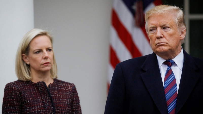 Nielsen resigns amid Trump anger over border