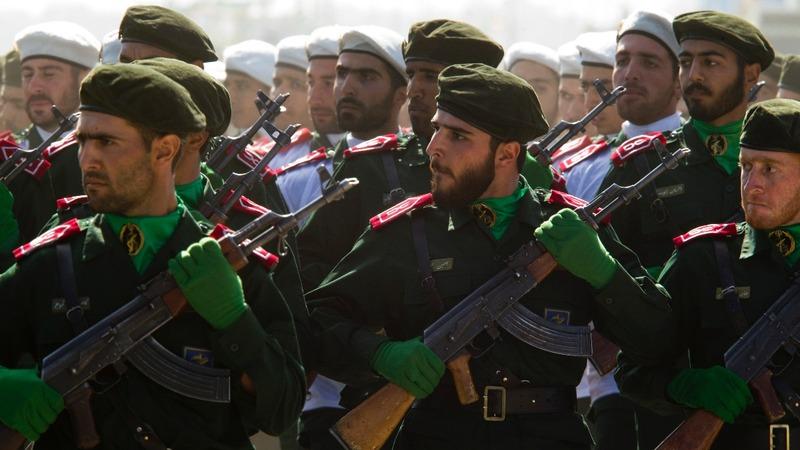 U.S. calls Iran military unit a 'terror' group