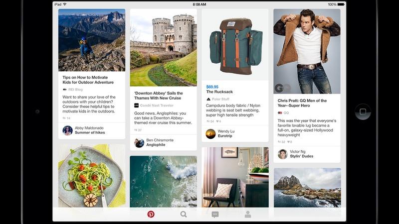 Pinterest prices below its last valuation
