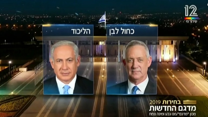 Election exit polls give Netanyahu an edge