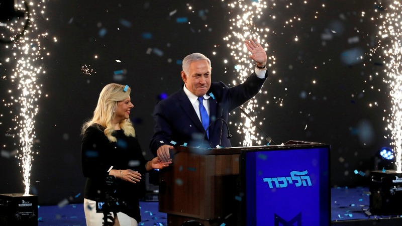 Israel's Netanyahu secures victory: vote tally
