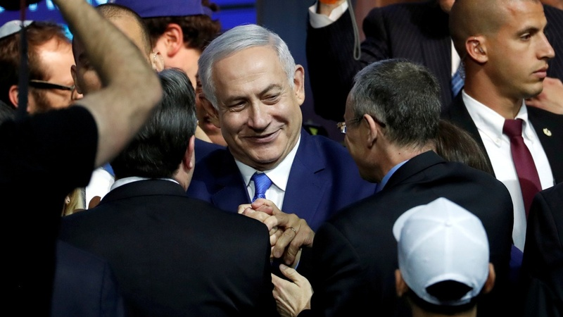 Israel's Netanyahu wins clear path to reelection