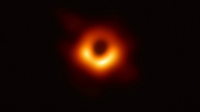 Scientists release remarkable image of black hole