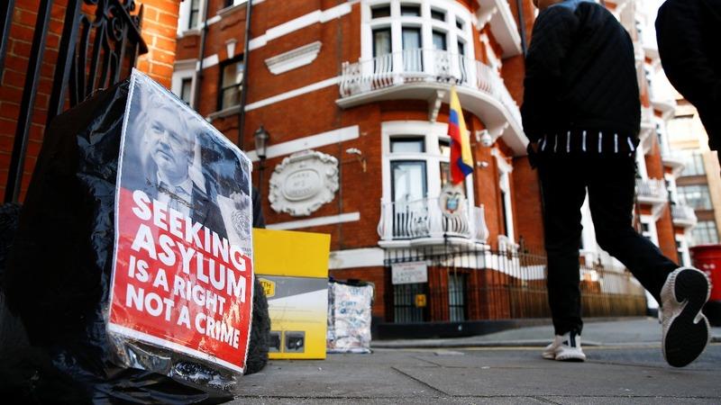 WikiLeaks: Assange being spied on in embassy