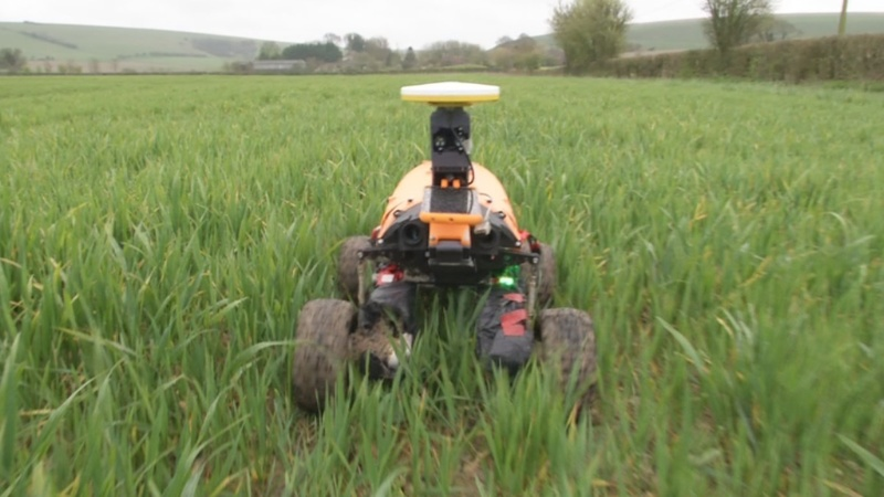 Goodbye tractors? Farm of the future could use robots
