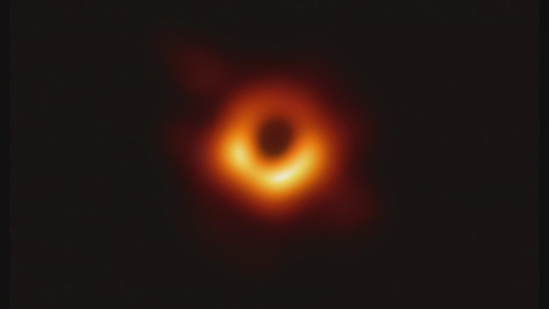'Remarkable' first image of black hole revealed