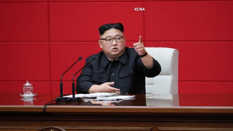 Kim Jong Un blasts 'hostile forces': media