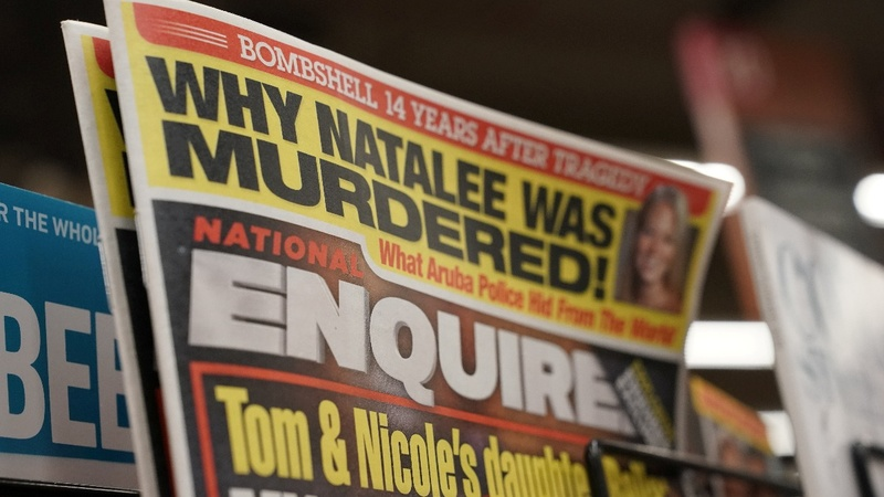 Tabloid National Enquirer up for sale