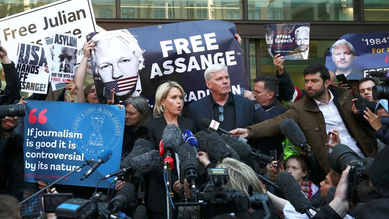 Ecuador turns on Assange; U.S. charges him