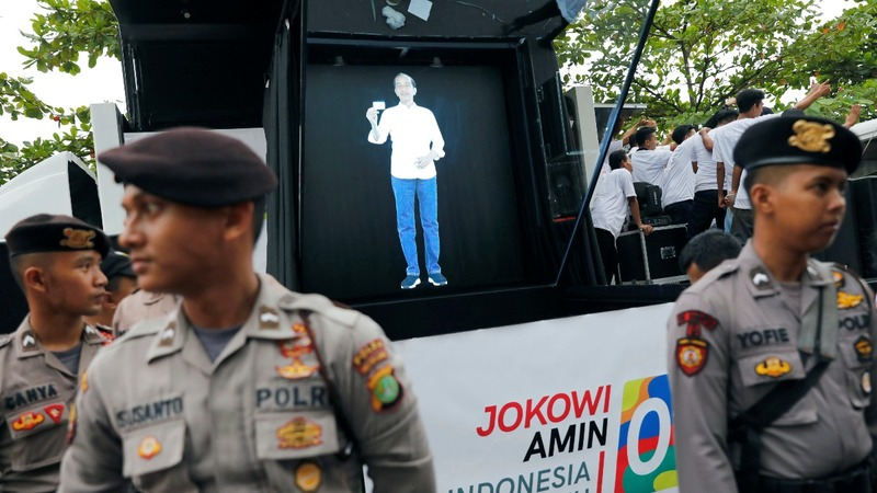 The future of campaigning comes to Indonesia