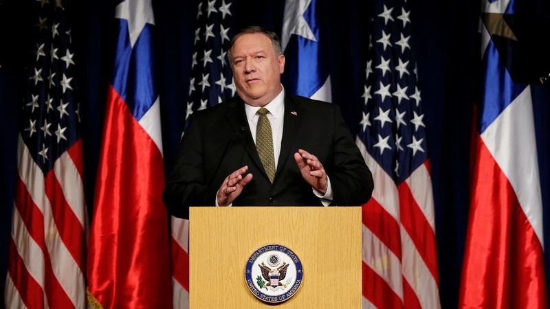 Pompeo lashes out at Russia, China on Venezuela
