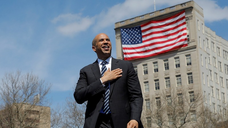 Booker tries to jump-start presidential campaign