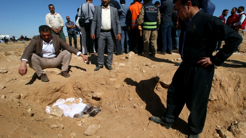 Iraq unearths remains of Kurds killed by Saddam