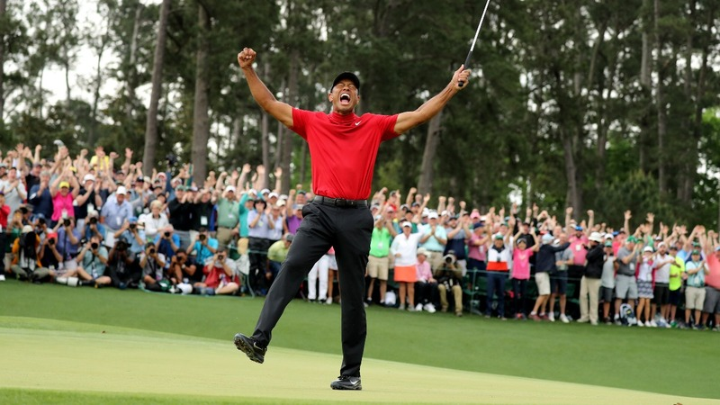 Tiger Woods wins Masters, first major in 11 years