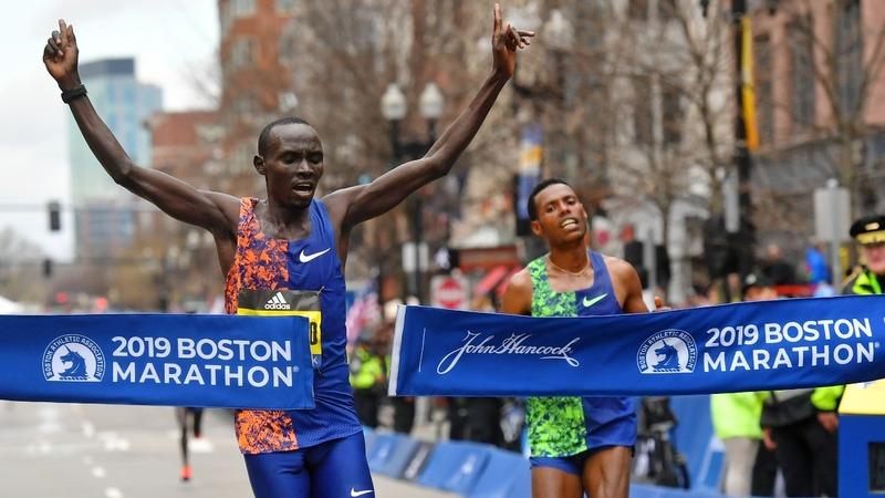 Closest Boston Marathon finish in over two decades