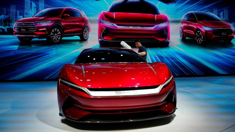 EVs take center stage at the Shanghai Auto Show
