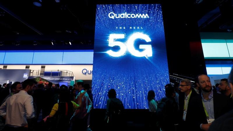 Qualcomm soars on Apple patent settlement