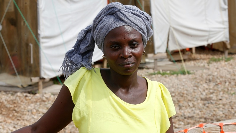 Ebola survivors turn caregivers in Congo outbreak