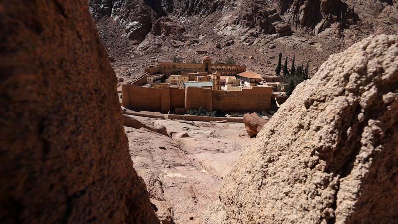 Saving ancient texts in a Sinai desert monastery