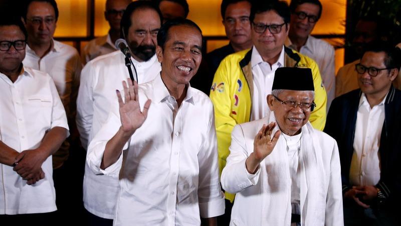 Indonesia's polls show early win for Joko Widodo