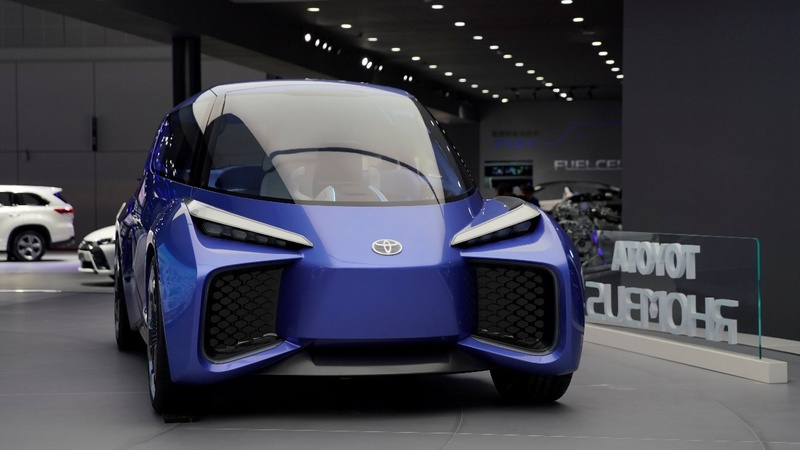 Future visions roll into the Shanghai Auto Show