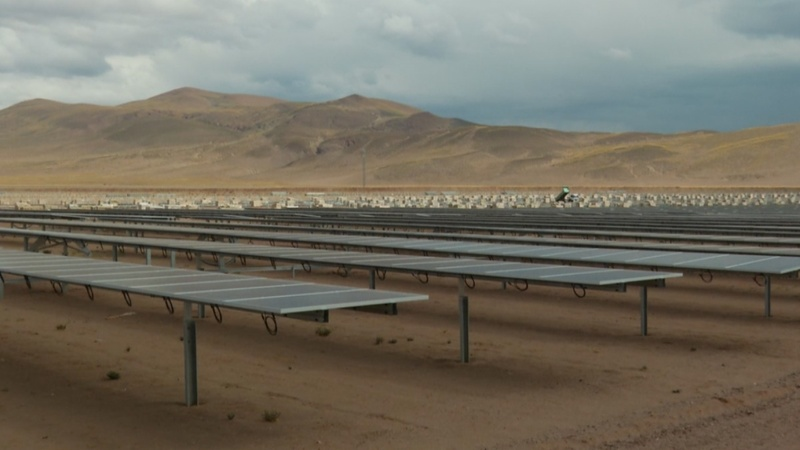 Argentina's solar farm reflects China's ambitions
