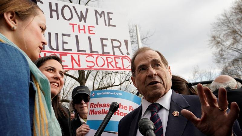U.S. House issues subpoena for full Mueller report