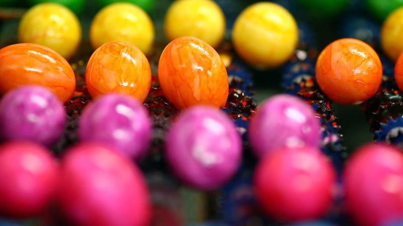 INSIGHT: Farm colors thousands of eggs for Easter