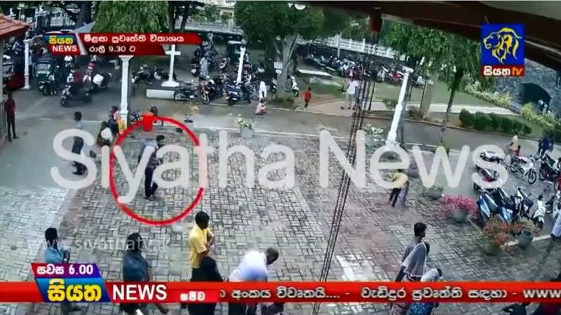 Church video shows Sri Lanka bombings suspect