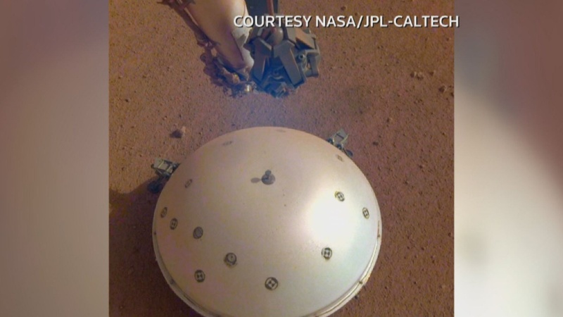 'Marsquake!': NASA detects likely tremor on Mars