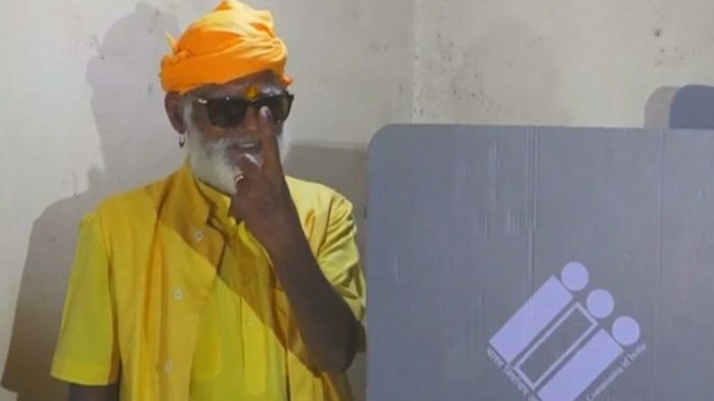 India's one-man voting booth in the jungle