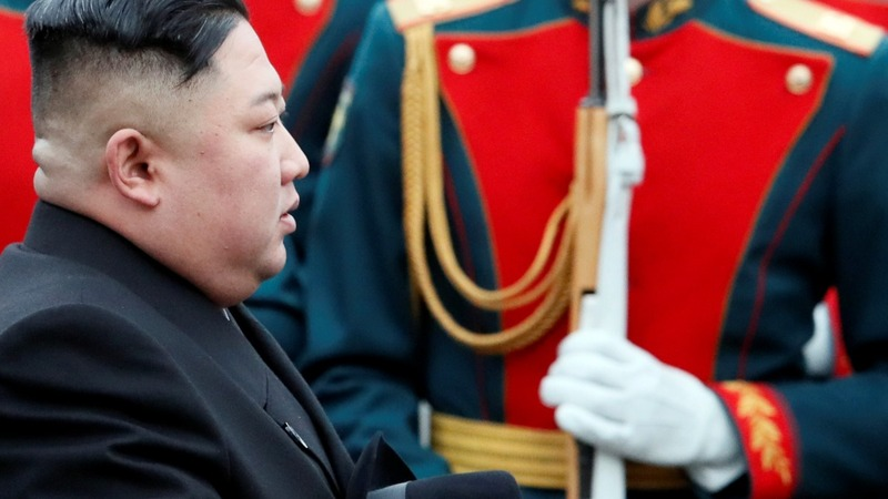Kim rolls into Russia for summit with Putin