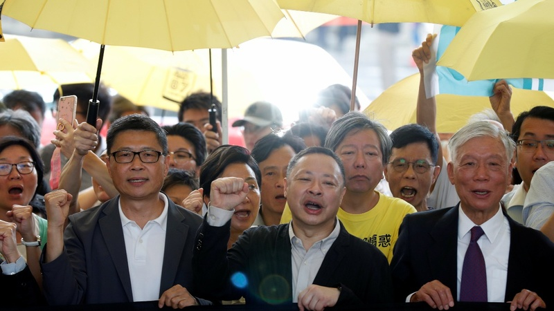 Hong Kong pro-democracy 'Occupy' leaders jailed