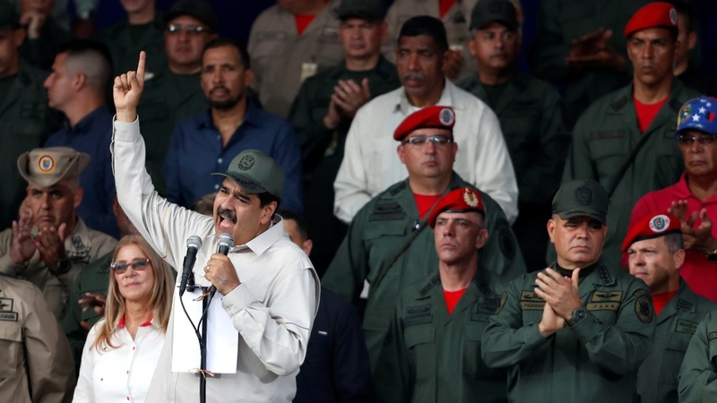Venezuelan military desertions are on the rise