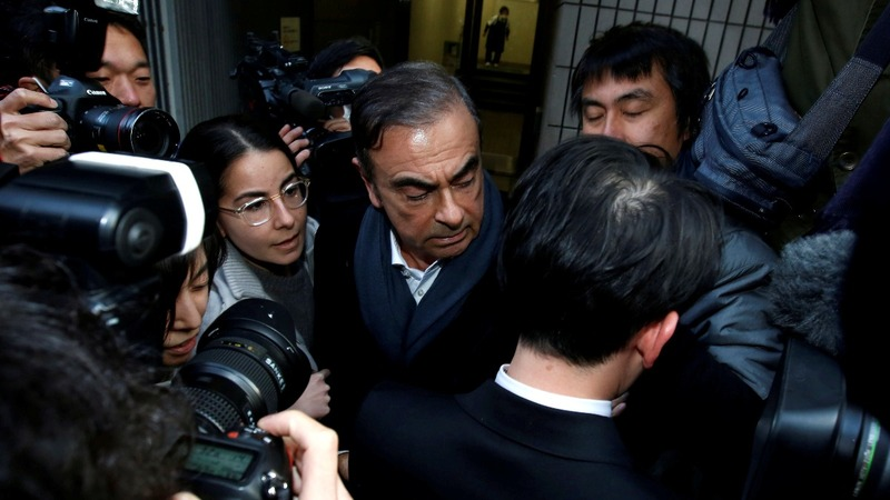 Ghosn leaves Tokyo jail after posting second bail