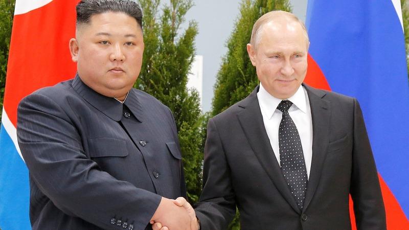 Spurned by U.S., Kim seeks friend in Putin