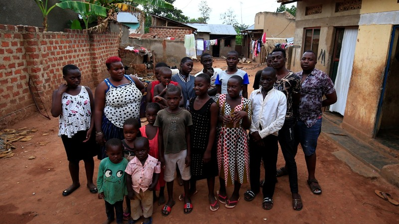 Ugandan mom struggles to raise 38 children